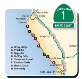 Coastal Geographic Big Sur Tours