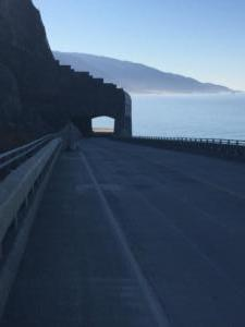 Rain Rocks Shed Big Sur